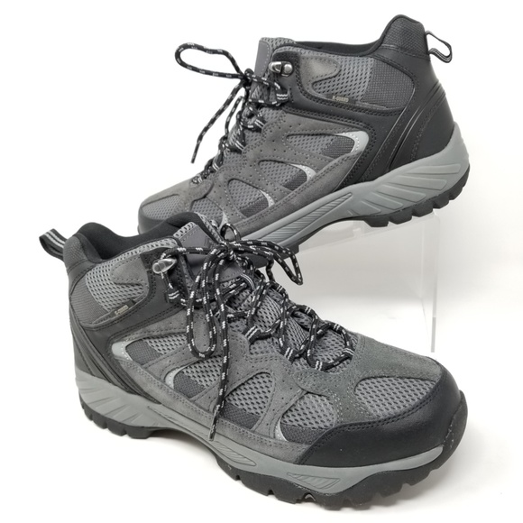7aceedb0dab NEW Khombu Tyler Waterproof Hiking Boot Black Gray NWT